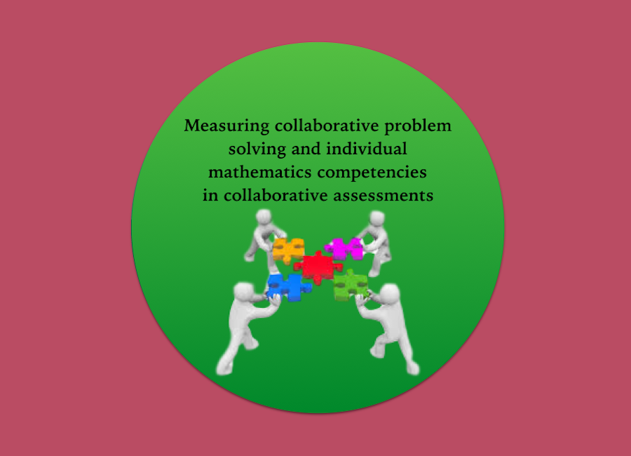 Measuring collaborative problem solving and individual mathematics competencies in collaborative assessments