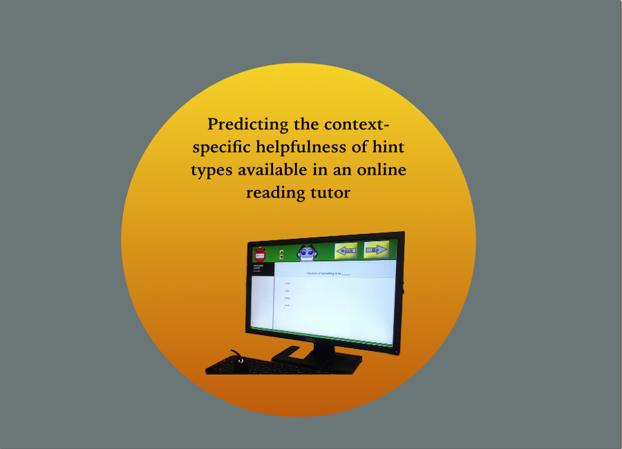 Predicting the relative helpfulness of specific hint types in an online reading tutor
