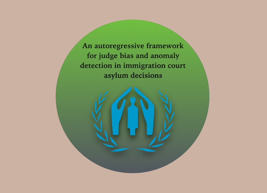 Judge bias and anomaly detection in immigration court asylum decisions